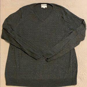 John W. Nordstrom Mens Italian Merino Wool Sweater